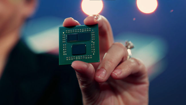 3D V-Cache on an AMD Zen 3 Ryzen desktop processor
